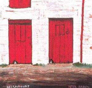 Neighbours By Peter Brook available at The Smithy Gallery
