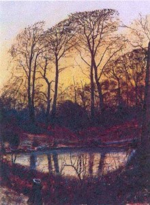 pool in the woods By Peter Brook