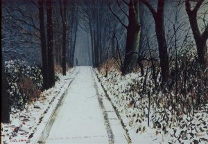 The Woods are Lovely Dark & Deep By Peter Brook