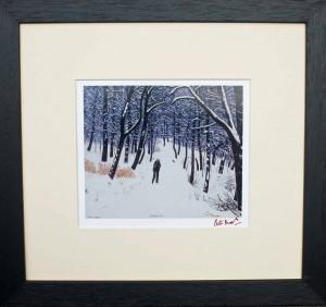 PB33 Strolling (Signed) - Peter Brook Prints and Originals