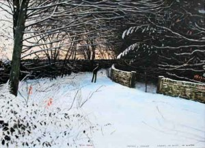 Pausing whilst walking by peter brook