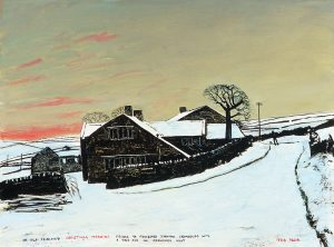 An old fashioned Christmas morning by Peter Brook