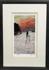Pennine Sunset Signed Peter Brook