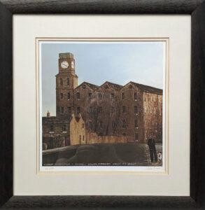 Old Mill Huddersfield Signed Peter Brook